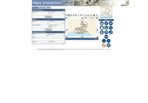 CM Albufeira: Mapa Interativo