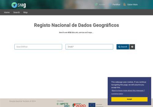 SNIG – Catálogo e Visualizador