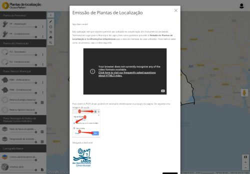 CM Lagos – Plantas de Localização