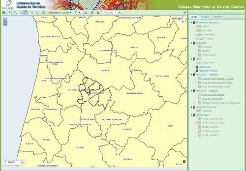 CM Vale de Cambra: Plantas de Localização