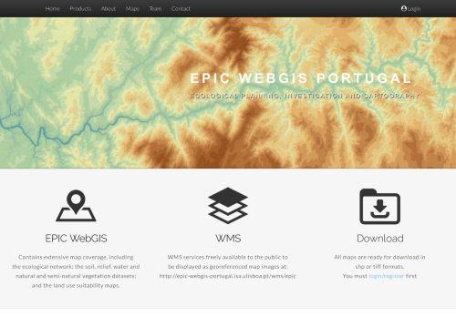 LEAF – EPIC WEBGIS PORTUGAL – ISA