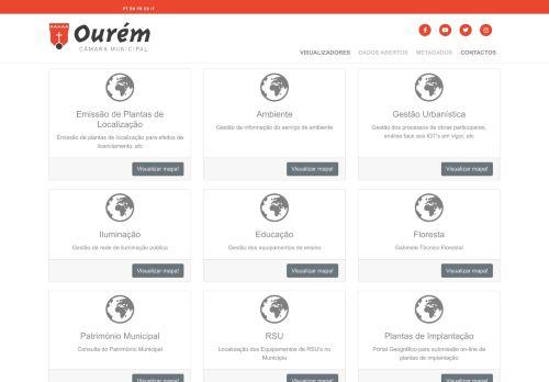 CM Ourém: WebSIG