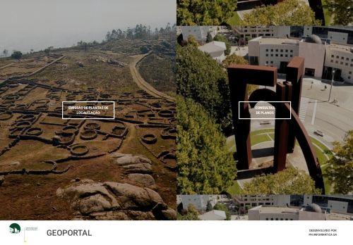 CM Paços de Ferreira: Geoportal
