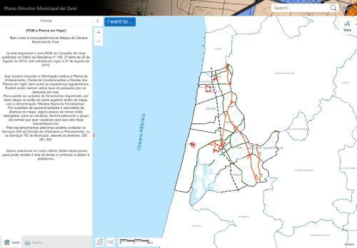 CM Ovar: Consulta do Plano Diretor Municipal