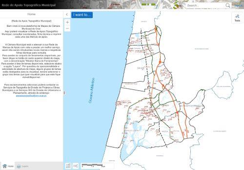 CM Ovar: Rede de Apoio Topográfico