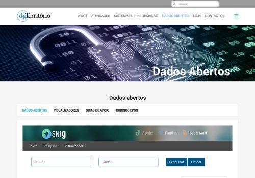 DGT: Dados Abertos no SNIG
