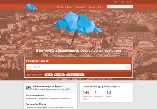 CM Águeda: Dados abertos