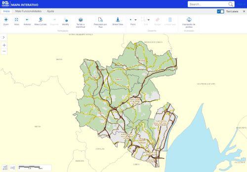 CM Loures: Mapa Interativo