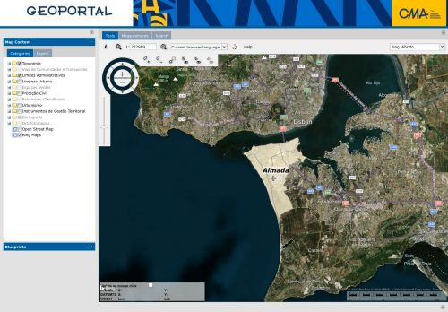 CM Almada: Geoportal