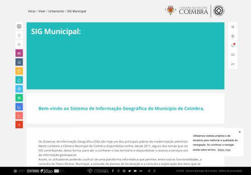 CM Coimbra: SIG Municipal